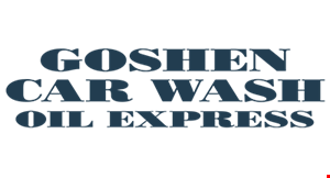 Goshen Car Wash logo