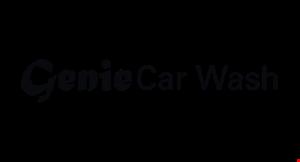 Product image for Genie Car Wash $2 OFF Basic Car Wash.