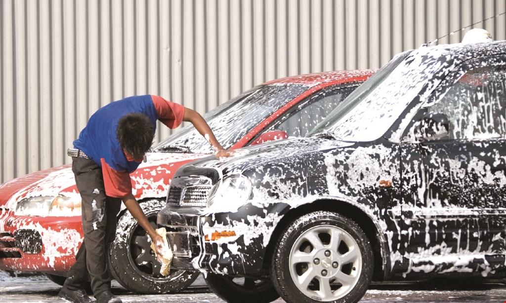 Product image for Genie Car Wash $3 OFF Basic Car Wash