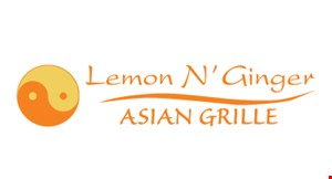 Product image for Lemon N' Ginger Asian Grille $10 off any purchase of $60 or more.
