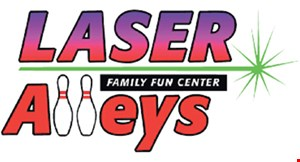 Product image for Laser Alleys Family Fun Center $10 Off bowling purchase