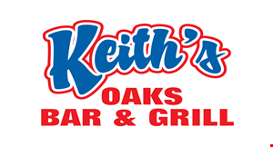 Product image for Keith's Oaks Bar & Grill $10 OFF any order of $50 or more.