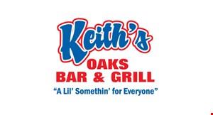 Keith's Oaks Bar & Grill logo