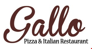 Gallo Pizza & Italian Restaurant logo
