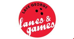 Lake George Lanes & Games logo