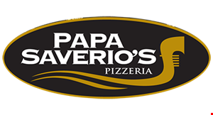 "Product image for Papa Saverio's Pizzeria- McHenry $14.99 16"" thin crust cheese pizza & 2-liter of pop."
