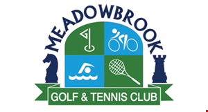 Product image for Meadowbrook Golf & Tennis Club $86 For 1 Round Of Golf For 4 Including A Pull Cart (Reg. $172)