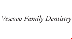 Product image for Vescovo  Family Dentistry $100 OFF any major dental service