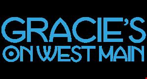 Gracie's on West Main logo