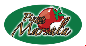 Product image for PIZZA MARSALA $11.99 large 1-topping pizza or $13.99 x-large 1-topping pizza.
