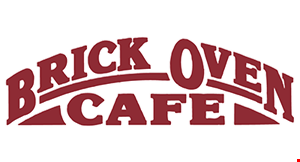 Brick Oven Cafe logo