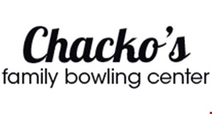 Chacko's Family Bowling Center logo
