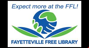 Fayetteville Free Library logo
