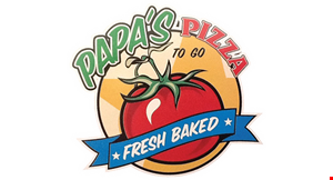 Papa's Pizza to Go logo