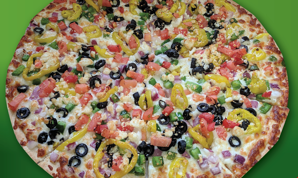 Product image for Papa's Pizza to Go $21.99 Two Large One Topping Pizzas and a Large order of Bambino Bread