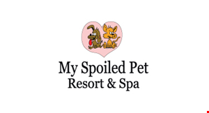 My Spoiled Pet Resort & Spa logo