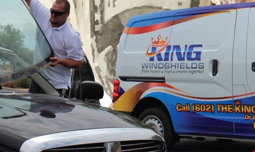 Product image for King Windshields Free $100 CASH with insurance replaced windshield.