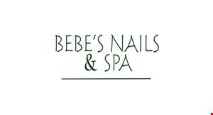 Bebe's Nails & Spa logo