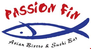 Product image for Passion Fin Asian Bistro & Sushi Bar $5 off any purchase