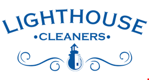 Lighthouse Dry Cleaners logo