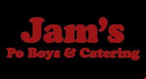 Jam's Po Boys & Catering logo