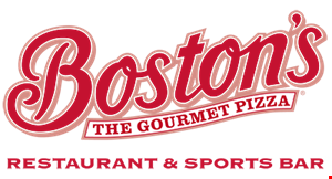 Boston's The Gourmet Pizza Restaurant & Sports Bar logo