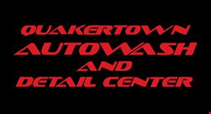Quakertown Auto Wash and Detail Center logo