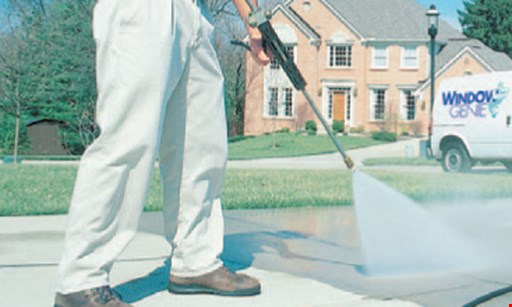 Product image for Window Genie - Chattanooga $99 Driveway Cleaning any driveway & sidewalk cleaning up to 1000 sq ft