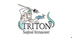 Triton Seafood Restaurant logo