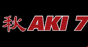 Aki 7 Sushi Grill logo