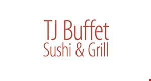 TJ Buffet Sushi & Grill logo
