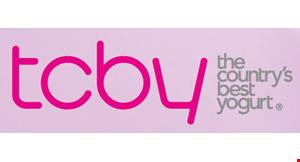 Product image for TCBY Myers Park $1 OFF PURCHASE OF $4 OR MORE.