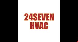 24 Seven HVAC logo