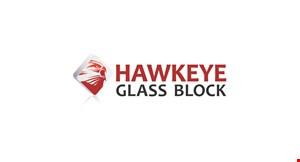 Hawkeye Glass Block logo