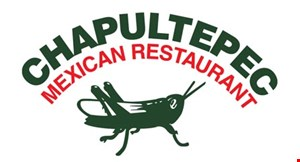 Product image for Chapultepec Mexican REstaurant $2 off any to go food order