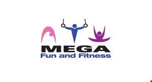 Mega Fun and Fitness logo