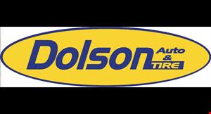 DOLSON TIRE & AUTO logo