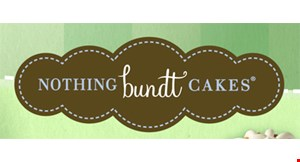 Product image for Nothing Bundt Cakes $5 off purchase of $25 or more.