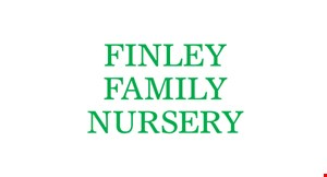 Product image for FINLEY FAMILY NURSERY $15 off any purchase of $50 or more.