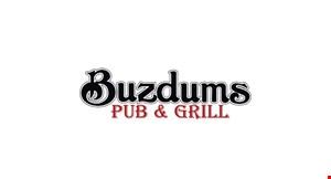 Buzdums Pub & Grill logo