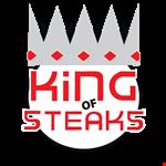 King of Steaks logo