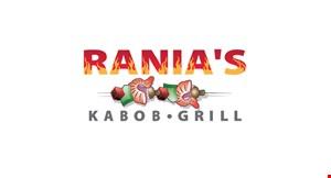 Rania's Kabob Grill logo