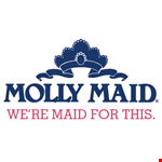 Product image for MOLLY MAID $25 off your first & third regularly scheduled cleaning