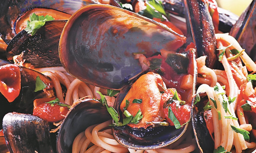 Product image for Cantina D'Italia 50% Off entree buy 1 entree, get 2nd entree of equal or lesser value 50% off.