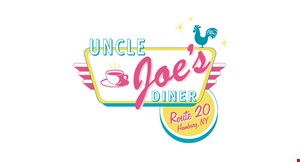 Product image for UNCLE JOES DINER $3 OFF any purchase of $30 or more