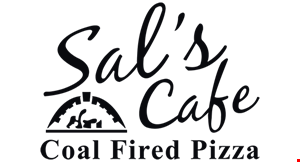 Product image for Sal's Cafe & Coal Fired Pizza $5 off any purchase of $30 or more.