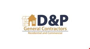 D&P General Contractor logo