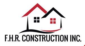 F.H.R. Construction Inc. logo