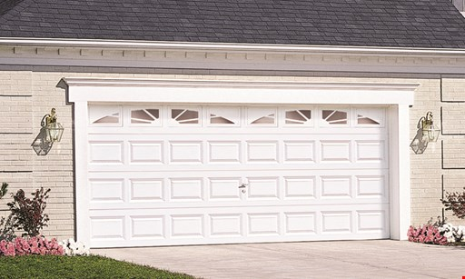 Product image for Precision Garage Doors $300 OFF $200 off a new double car garage door a new single car garage door.