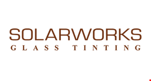 Solarworks Glass Tinting logo